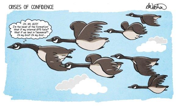 Crises of confidence