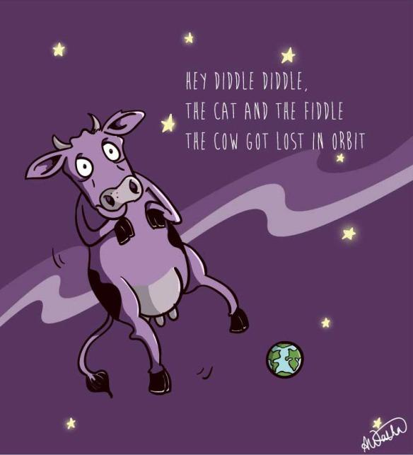 Cow in orbit