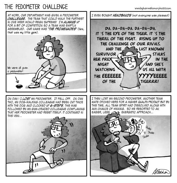 Pedometer challenge